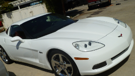 2008 Corvette frame repair by Auto Body Unlimited