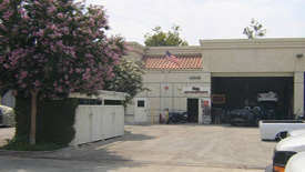 auto repair parts office space and double work bay for lease from www.thecrashdoctor.com