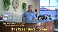 Doc Jay hosting video consumer information tip # 4 photo from www.thecrashdoctor.com
