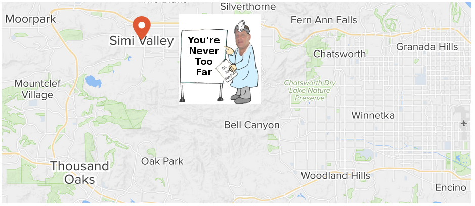 Auto Body Simi Valley The Crash Doctor Map